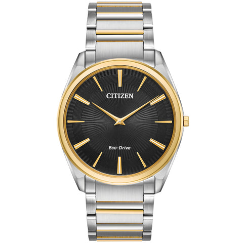 Citizen Stiletto Eco-Drive in two tone stainless steel AR3074-54E