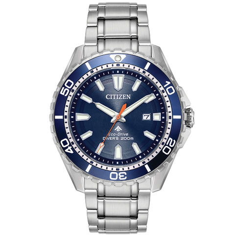 Men's Citizen Promaster Diver in stainless steel BN0191-55L