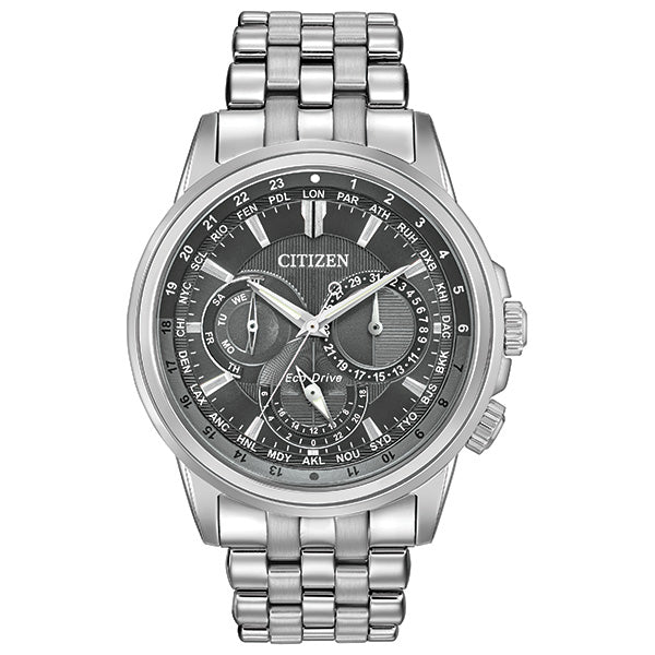 Men's Citizen Calendrier in stainless steel BU2021-51H