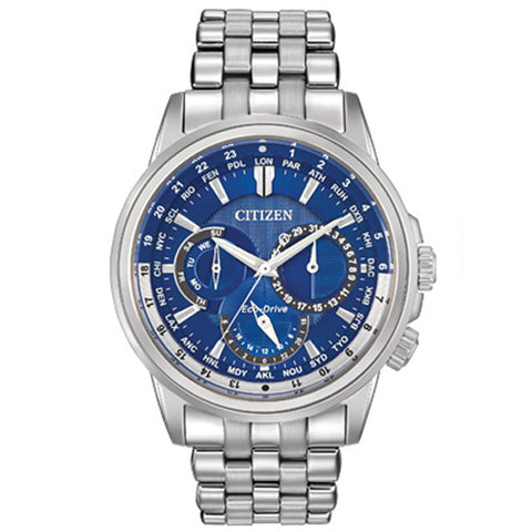 Men's Citizen Calendrier in stainless steel BU2021-51L