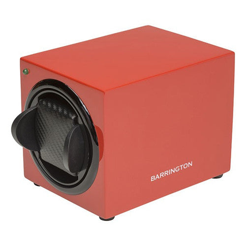 Watch accessory - Single watch winder box, Crimson Red  - PA Jewellery