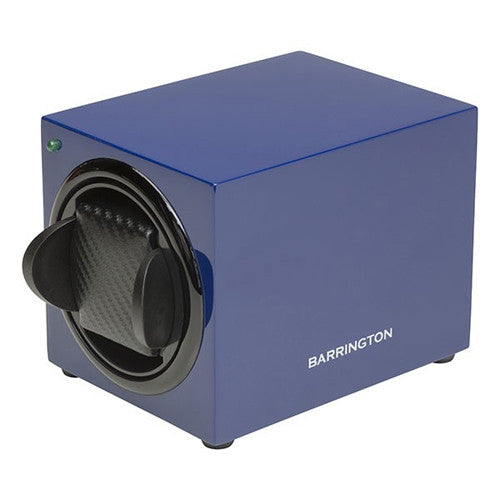 Watch accessory - Single watch winder box, Midnight Blue  - PA Jewellery
