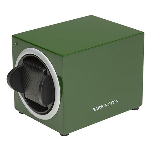 Watch accessory - Single watch winder box, Racing Green  - PA Jewellery