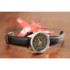 Men's Citizen Red Arrows Chronograph in stainless steel on leather CA0080-03E