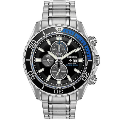 Men's Citizen Promaster Diver in stainless steel CA0719-53E