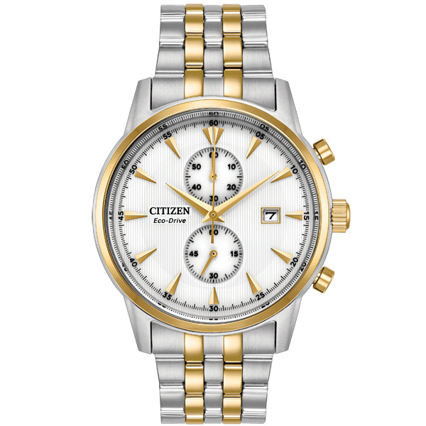 Men's Citizen Corso in two tone stainless steel CA7004-54A