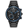 Citizen Satellite Wave GPS in black IP stainless steel CC3038-51E