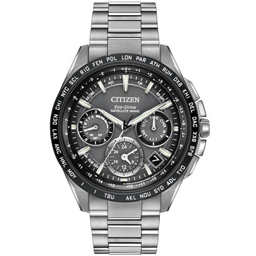Watch - Men's Citizen Satellite Wave in super titanium CC9015-71E  - PA Jewellery