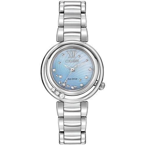 Watch - Ladies' Citizen L Sunrise in stainless steel EM0320-59D  - PA Jewellery