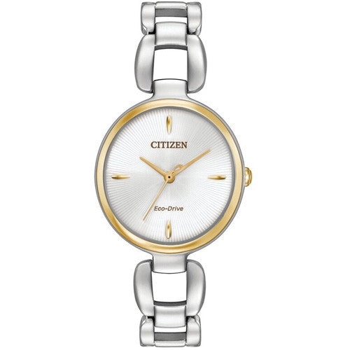 Watch - Ladies' Citizen L in two tone stainless steel EM0424-53A  - PA Jewellery