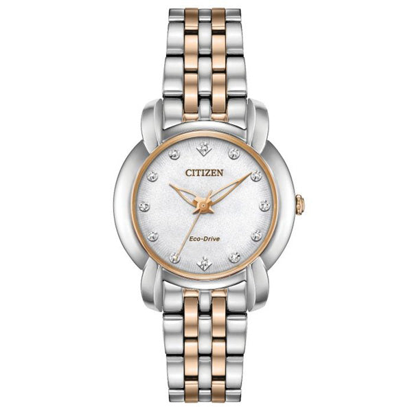 Ladies' Citizen Jolie in two tone stainless steel EM0716-58A