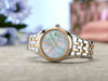 Ladies' Citizen Silhouette in two tone stainless steel EV1036-51Y