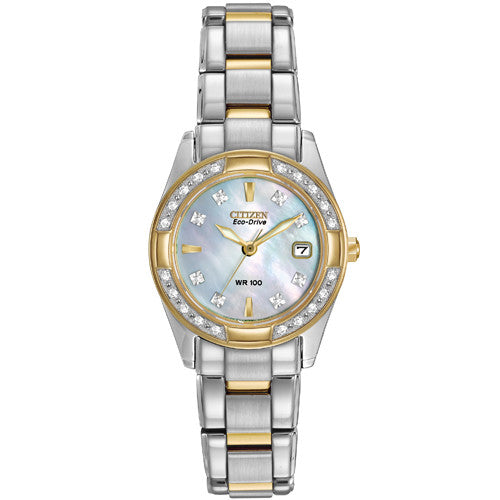 Watch - Ladies' Citizen Regent in two tone stainless steel EW1824-57D  - PA Jewellery