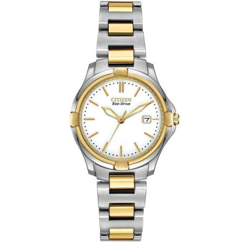 Watch - Ladies' Citizen Silhouette Sport in two tone stainless steel EW1964-58A  - PA Jewellery