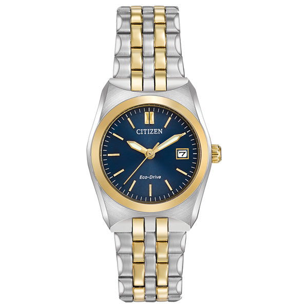 Ladies' Citizen Corso in two-tone stainless steel EW2294-53L
