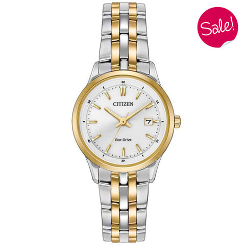 Ladies' Citizen in two tone stainless steel EW2404-57A