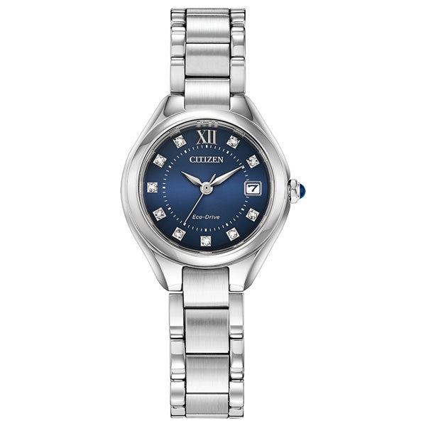 Ladies' Citizen Silhouette Crystal in stainless steel EW2540-83L