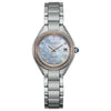Ladies' Citizen Silhouette Crystal in two tone stainless steel EW2556-59Y