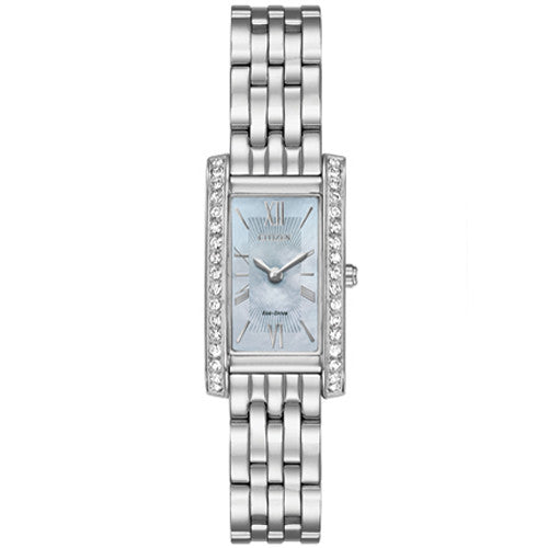 Watch - Ladies' Citizen Silhouette Crystal in stainless steel EX1470-60D  - PA Jewellery