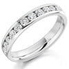 Ring - Round brilliant cut diamond channel set full eternity ring, 1.55ct  - PA Jewellery