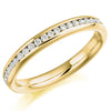 Ring - Round brilliant cut diamond channel set full eternity ring, 0.50ct  - PA Jewellery