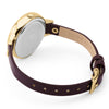 Ladies' Fiorelli in yellow gold plate on leather FO042BE
