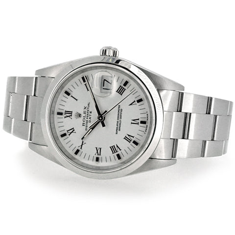 Rolex Oyster Perpetual Date in stainless steel 15200