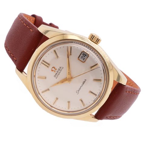Omega Seamaster in yellow gold capped stainless steel 166.010