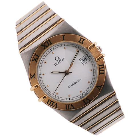 Omega Constellation in stainless steel and 18ct yellow gold 396.1070