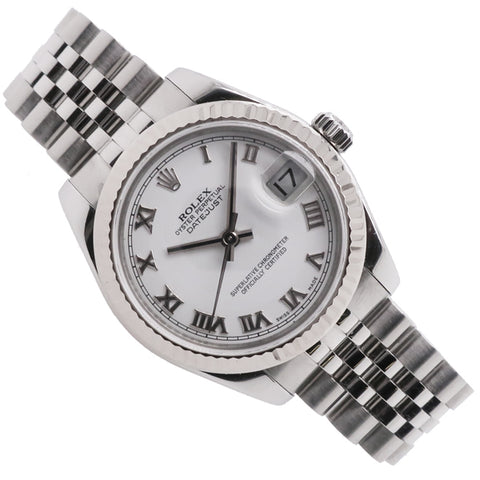 Mid-size Rolex Oyster Perpetual Datejust in stainless steel 178274