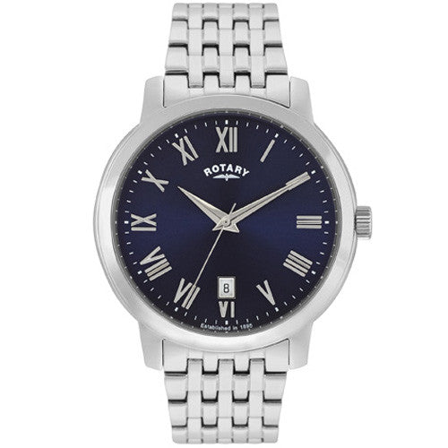 Watch - Men's Rotary Sloane in stainless steel GB02460/05  - PA Jewellery