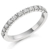 Ring - Brilliant cut diamond half eternity ring, 0.33ct  - PA Jewellery