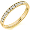Ring - Grain set diamond half eternity ring, 0.30ct  - PA Jewellery