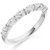 Ring - Marquise cut diamond half eternity ring, 0.60ct  - PA Jewellery