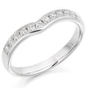 Ring - Diamond set shaped band ring, 0.30ct  - PA Jewellery