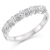 Ring - Round brilliant cut diamond band ring, 0.60ct  - PA Jewellery