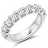 Ring - Round brilliant cut diamond micro claw set half eternity ring, 2.00ct  - PA Jewellery