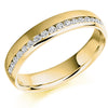 Ring - Round brilliant cut diamond channel set band ring, 0.26ct  - PA Jewellery