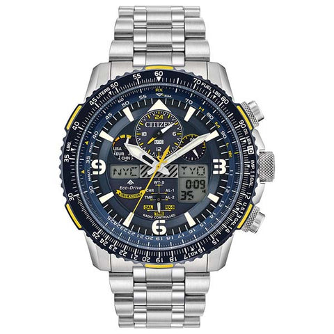 Citizen Promaster SkyHawk A-T Blue Angels in stainless steel JY8078-52L