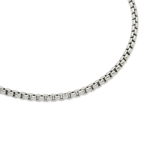 Neckwear - Steel belcher necklace  - PA Jewellery