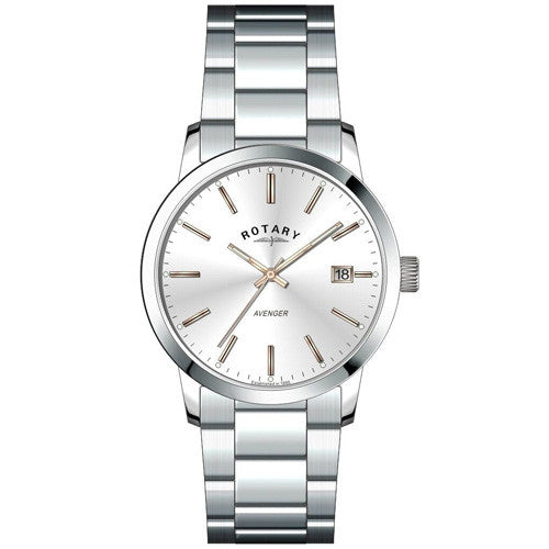 Watch - Ladies' Rotary Avenger in stainless steel LB02735/06  - PA Jewellery