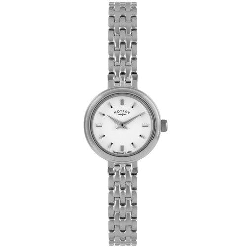 Watch - Ladies' Rotary in stainless steel LB02086/02  - PA Jewellery