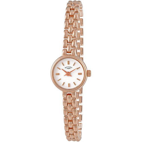 Watch - Ladies' Rotary in yellow PVD plated stainless steel LB02543/03  - PA Jewellery