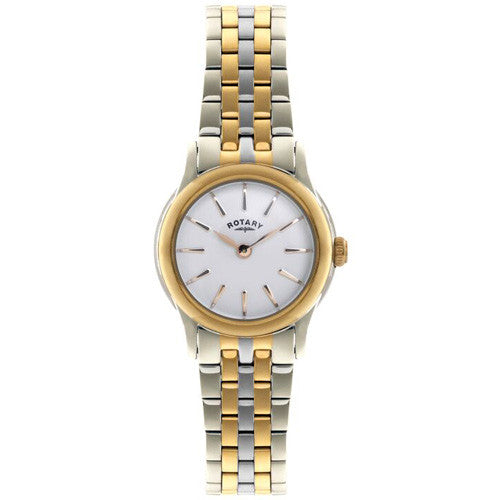 Watch - Ladies' Rotary Verona in two tone stainless steel LB02571/03  - PA Jewellery