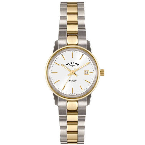 Watch - Ladies' Rotary Avenger in two tone stainless steel LB02736/02  - PA Jewellery