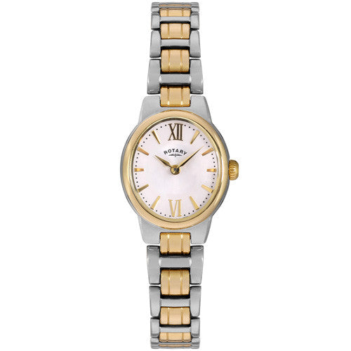 Watch - Ladies' Rotary Olivie in two tone stainless steel LB02747/01  - PA Jewellery
