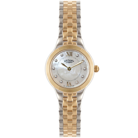 Ladies' Rotary in two tone stainless steel LB02761/41
