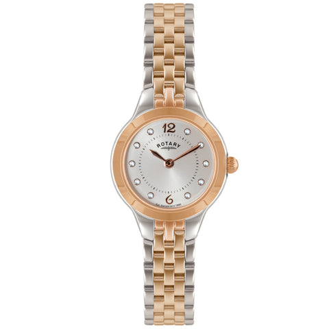 Ladies' Rotary in two tone stainless steel LB02762/59