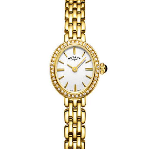 Ladies' Rotary Cocktail in yellow gold plated stainless steel LB05051/02