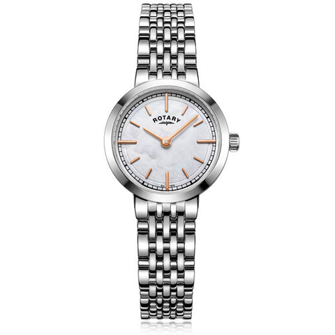 Ladies' Rotary Canterbury in stainless steel LB0506/07